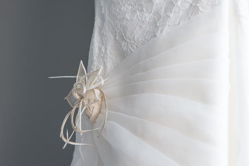 photo de mariage robe de la mariée - clairelinephotographe